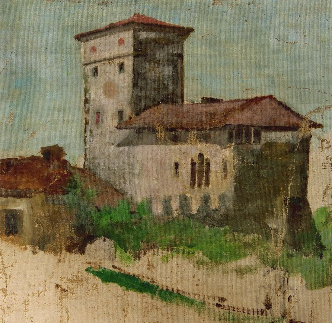 Il Castello Di Prampero secondo Afro Basaldella